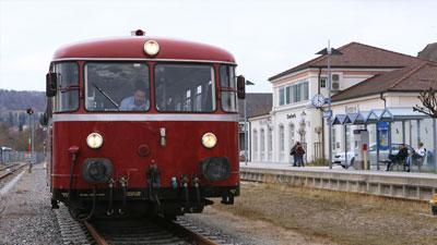 Der Ausflugsverkehr Biberbahn